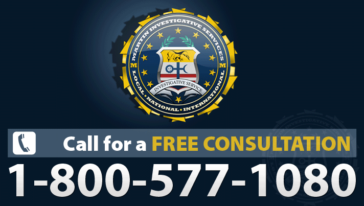 Free consultations for private investigation can be had by calling 1-800-577-1080.