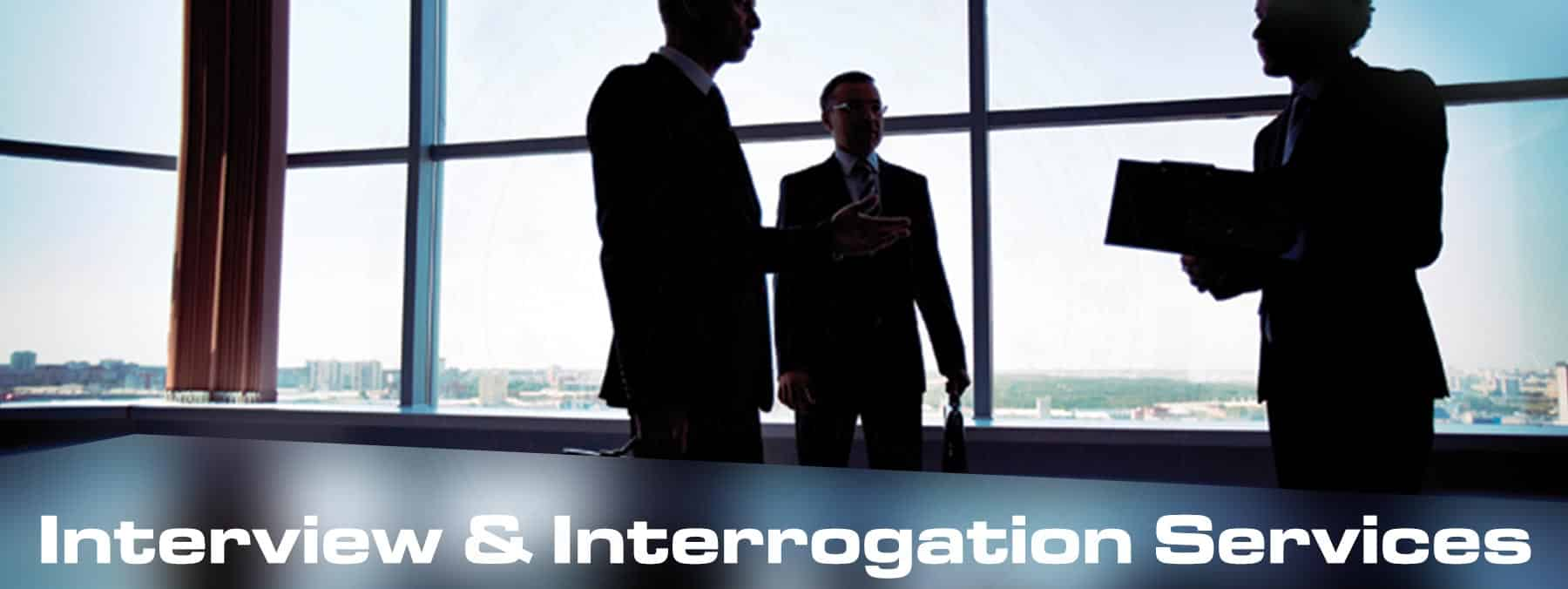 Interview & Interrogation services from Martin Investigative Services