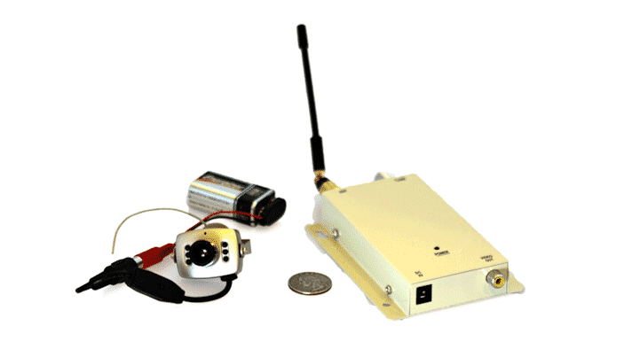 Bug sweeps help detect listening and video devices. This is a wireless camera and received we actually discovered.