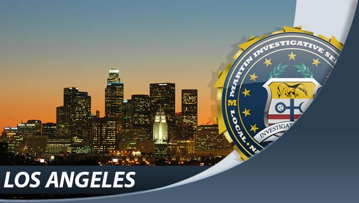 Private investigators at Martin Investigative Services, Los Angeles office. 1880 Century Park East, Suite 618, Los Angeles, CA 90067. By appointment only. (800) 577-1080
