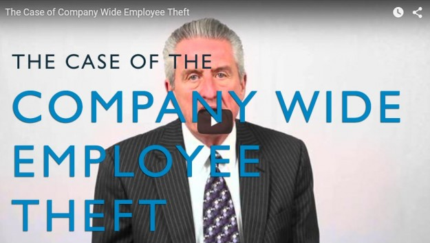 The Case of Company Wide Employee Theft. Video. Martin Investigative Services. (800) 577-1080