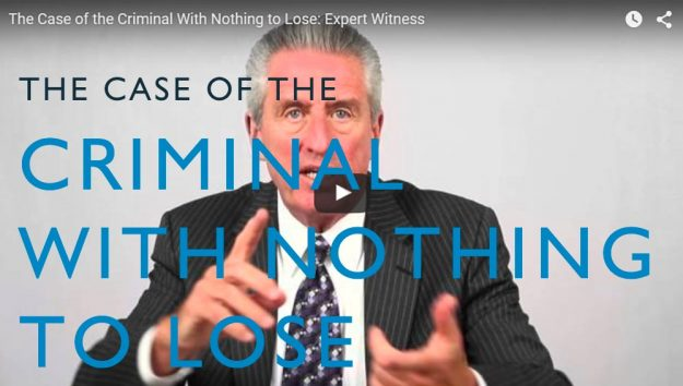 The Case of the Criminal with Nothing to Lose. Video. Martin Investigative Services. (800) 577-1080