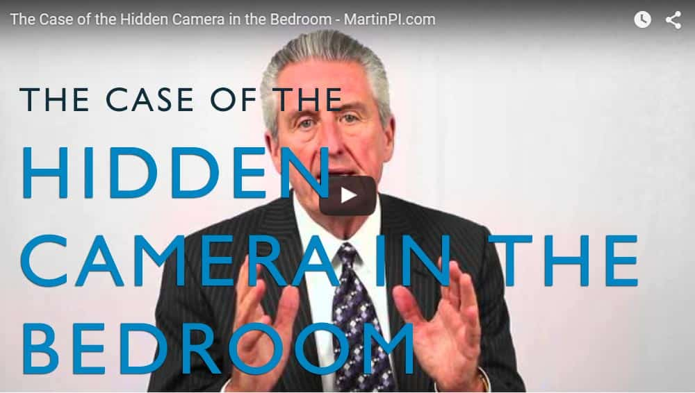 the case of the hidden camera in the bedroom