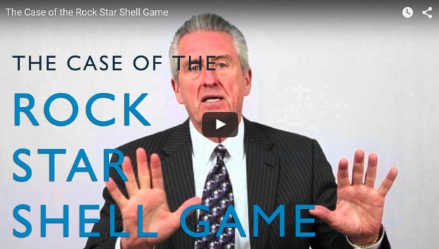 The Case of the Rock Star Shell Game. Video. Martin Investigative Services. (800) 577-1080