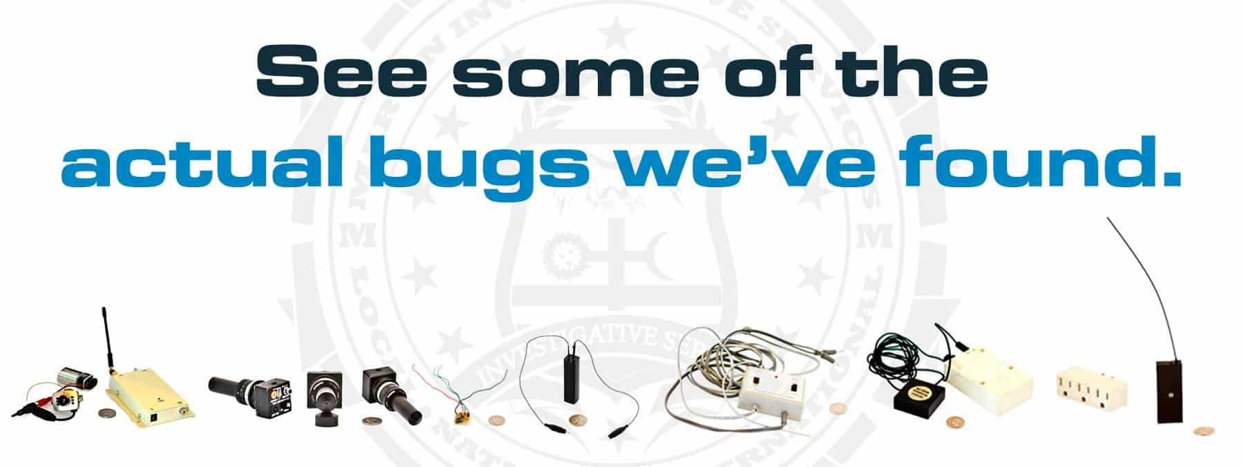 Bug sweep services from Martin Investigative Services