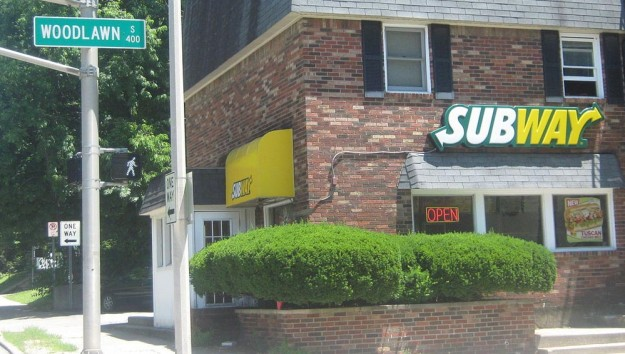 The Bloomington Subway restaurant that Jared Fogle habitually visited. This file is licensed under the Creative Commons Attribution-Share Alike 3.0 Unported license. Author: Martinanguiano