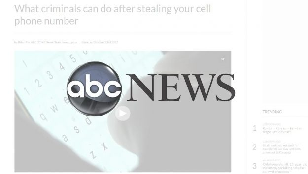 Thomas G. Martin is interviewed in this article for ABC News
