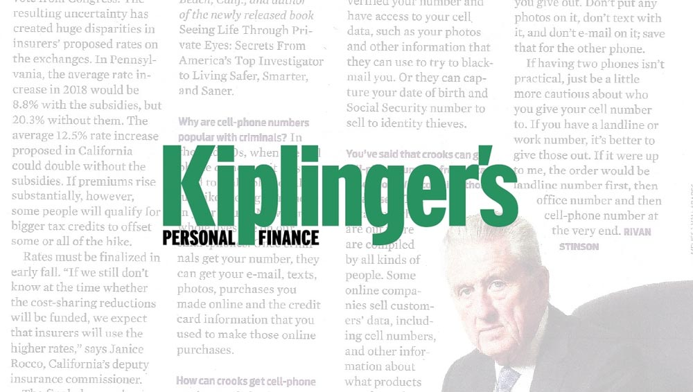 Thomas G. Martin is interviewed in this article for Kiplinger's