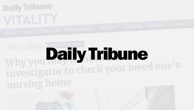 Martin Investigative Services featured in an article in The Daily Tribune