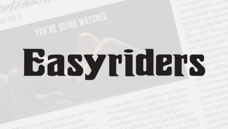 Martin Investigative Services featured in Easyriders motorcycle magazine for men