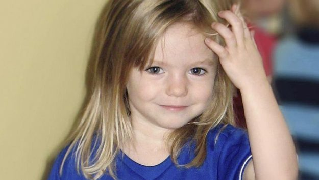 Madeleine McCann, pictured here at 3-years-old in 2007, has been missing since then.